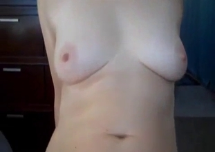 Redhead MILF with big tits and her horny son