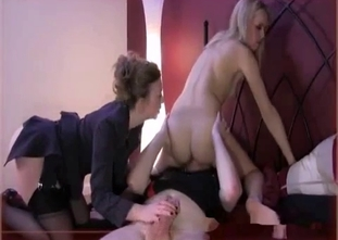 Mom and dirty daughter have amazing incest action