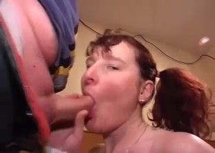 Real brother drills his pierced sister in close up