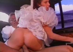 Daddy gets nicely sucked by a busty cousin