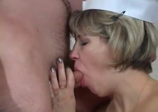Nurse mom bangs with her drunken son for real