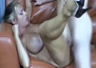 Perfect big tit mom enjoys her son hard dick